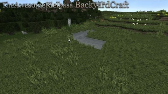 BackyardCraft Resource Pack: Landscape