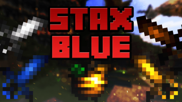 Stax UHC PvP Texture Pack Blue/Black
