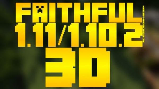 Faithful 3D 1.10.2/1.10.4/1.11/1.9.4