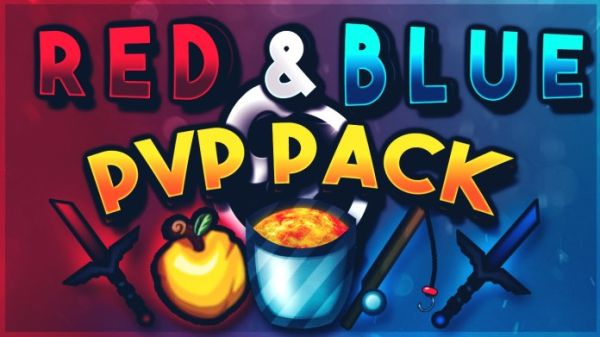 UHC PvP Texture Pack Red & Blue UHC 1.7/1.8
