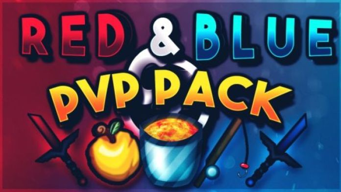 UHC PvP Texture Pack Red Blue