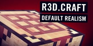 R3D.Craft Resource Pack: Default Realism 1.12/1.11/1.10