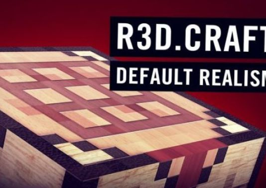 R3D.Craft Resource Pack: Default Realism 1.12.2/1.12/1.11/1.10