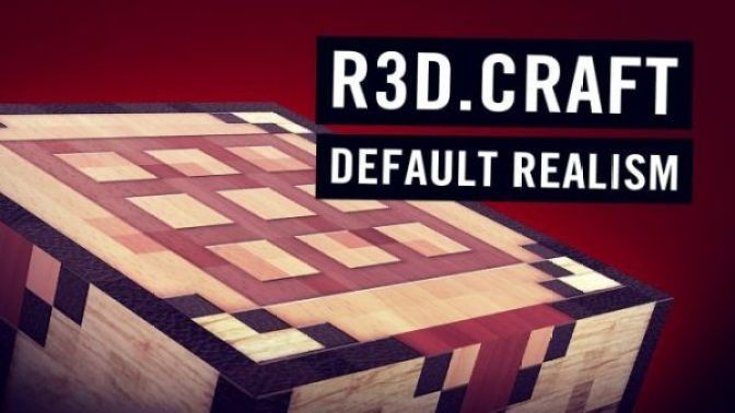 R3D.Craft Resource Pack for Minecraft 1.12.2, 1.12, 1.11.2, 1.11