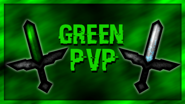 Green PvP Texture Pack Animated 1.11/1.10/1.9/1.8