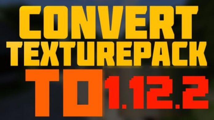 convert resource pack to 1.12.2
