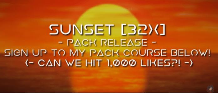 Sunset [32x] Pack