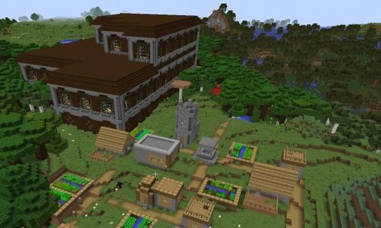 Awesome MC PC Multi MansionMulti Village Seed