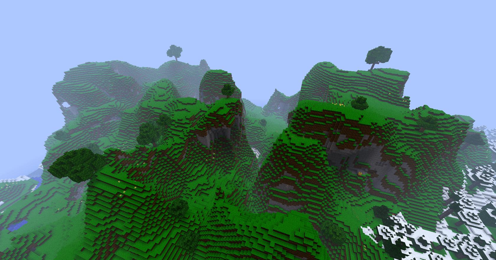 Swamp PmawS Minecraft Seeds