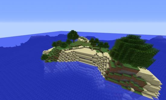 Survival Island Minecraft Seeds