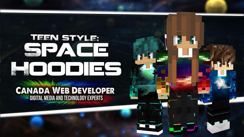 TEEN STYLE: SPACE HOODIES