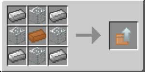 Cofre de cobre a hierro