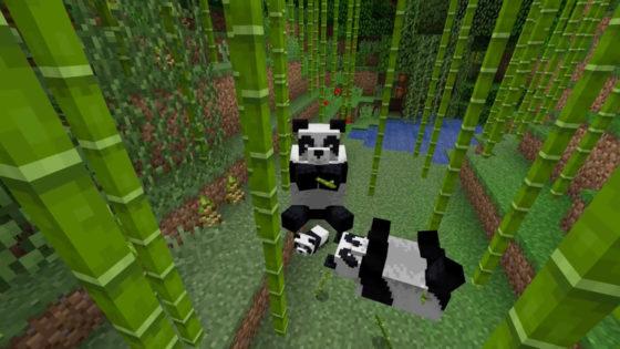 panda minecraft 1.14