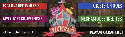 servidor superior minecraft pvp facción vikicraft