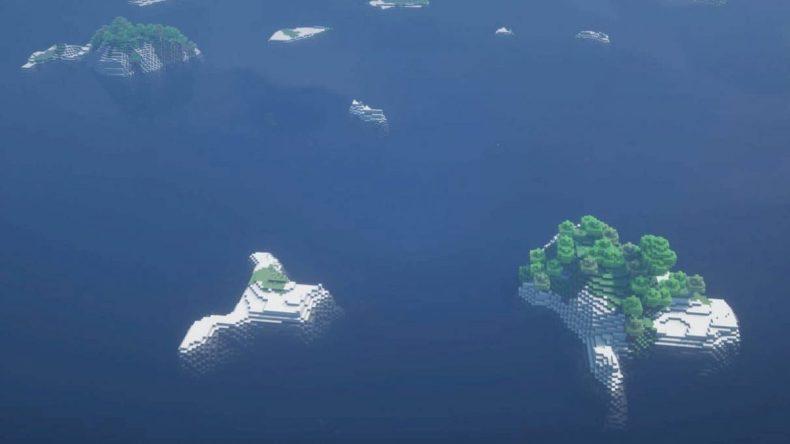 semilla minecraft 1.16 archipiélago