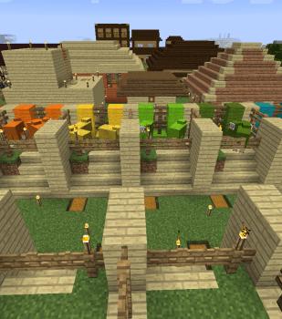 全16色個室半自動羊小屋