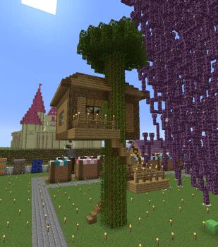 ツリーハウス作りました