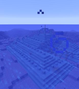 海底神殿の水抜きします(`・ω・´)