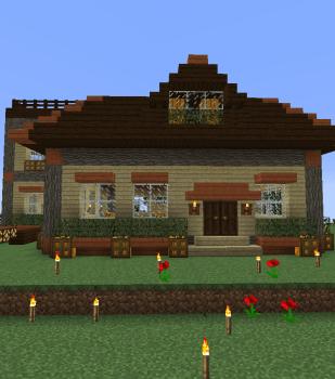 湿地の見える高台に家造り初挑戦