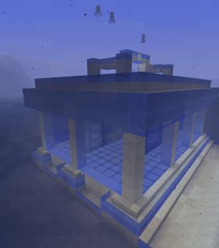 海底ネザー小屋の改装