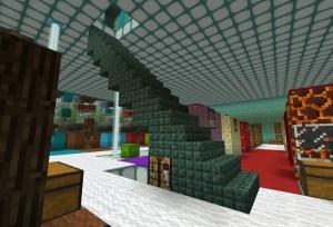 階段ブロックに