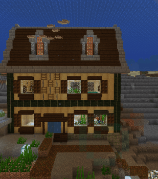 ノープランで大きめの家を作ってみた