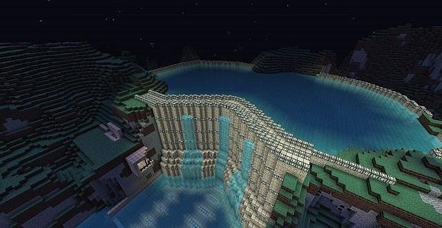 Piston Dam Underground Minecraft Building Inc