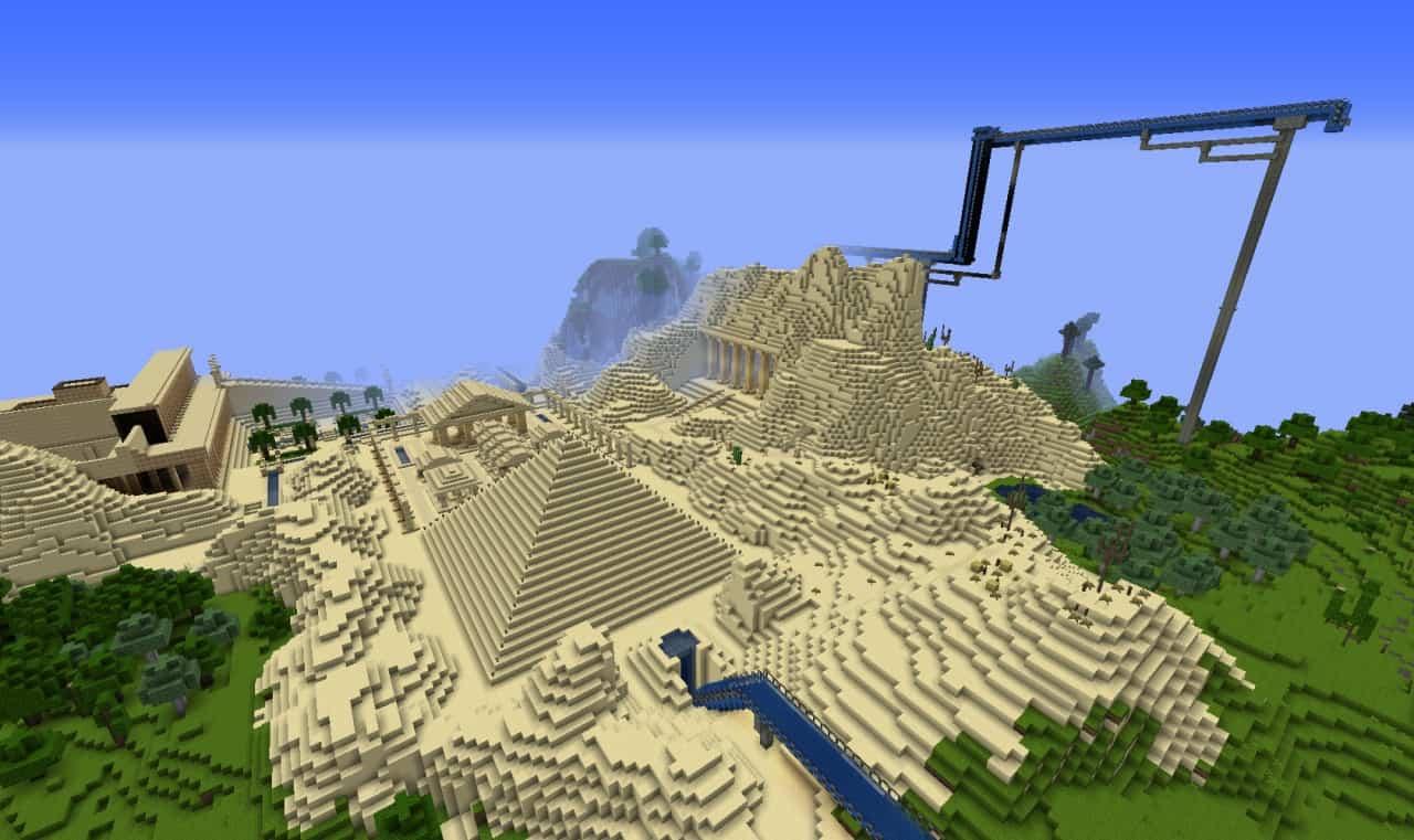 Hillside Manor Wolrd Minecraft Build 6 Minecraft