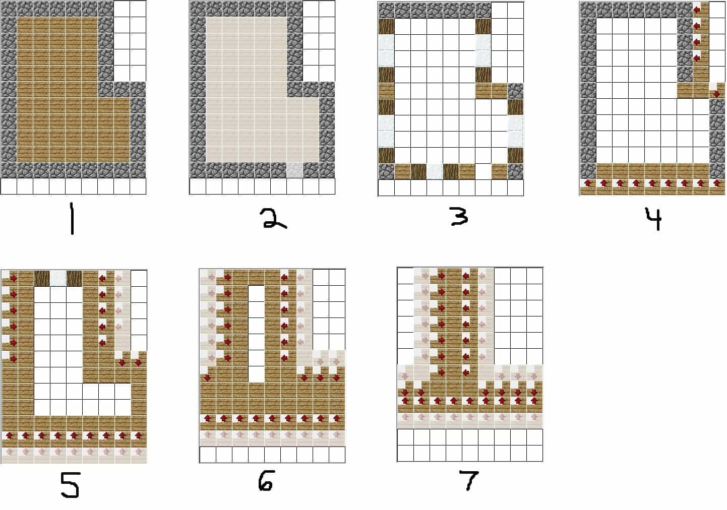 Villager House Blueprint Minecraft Building Inc