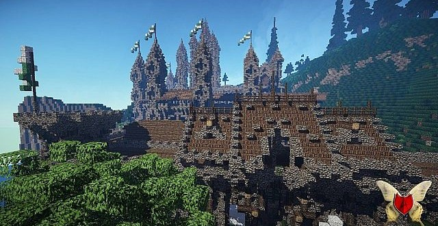Kingdom Of Cial Server Spawn Minecraft Building Inc