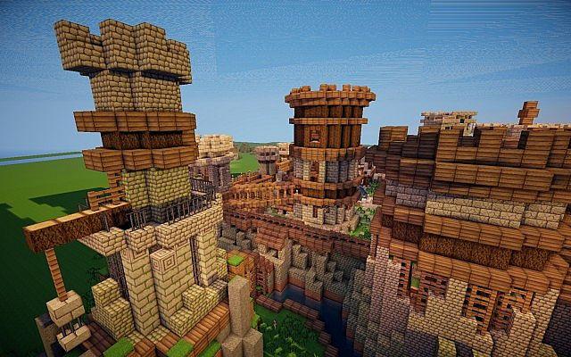 Old Castle Minecraft Building Inc