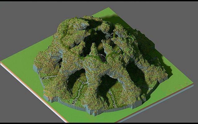 Huevo Custom Terrain Organic Minecraft Building Inc
