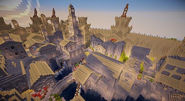 Osgiliath Ancient Capital Of Gondor Minecraft Building Inc
