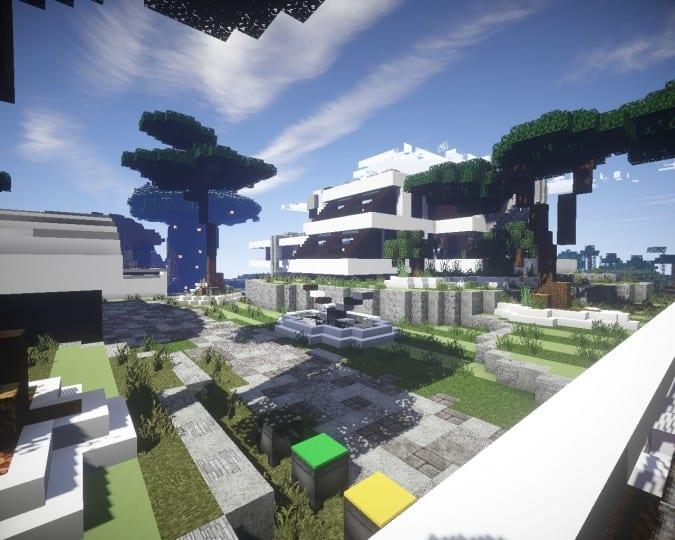 Mediterranean Beach House Minecraft Building Inc