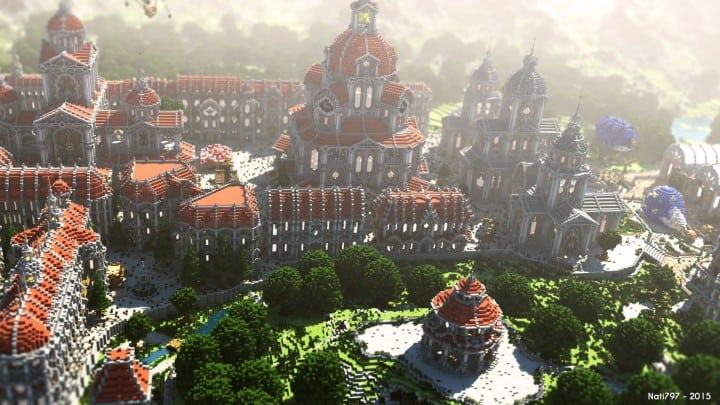 The Baroque Survival Games 32 Players Minecraft