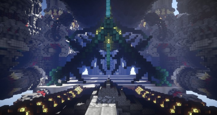 The Fear Of Space Rendered Cinematic Minecraft Building Inc