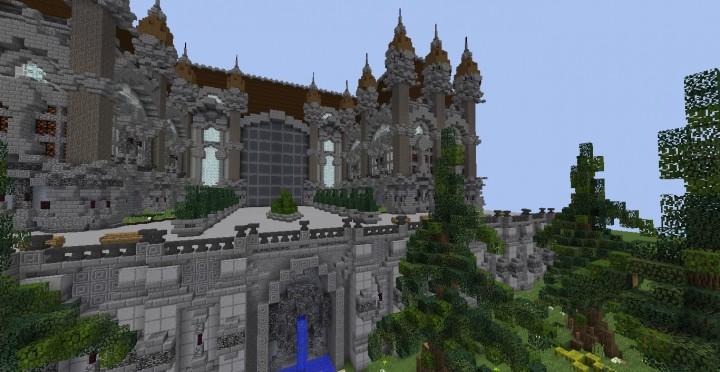 Fantasy Mansion Plot Minecraft Building Inc