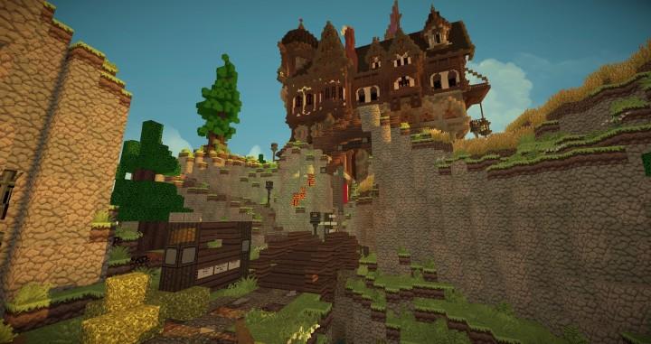 Medieval Playerhome Minecraft Building Inc