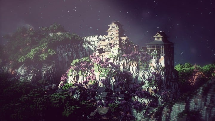 Project Kuni No Tori A Japanese Citadel Minecraft Building Inc