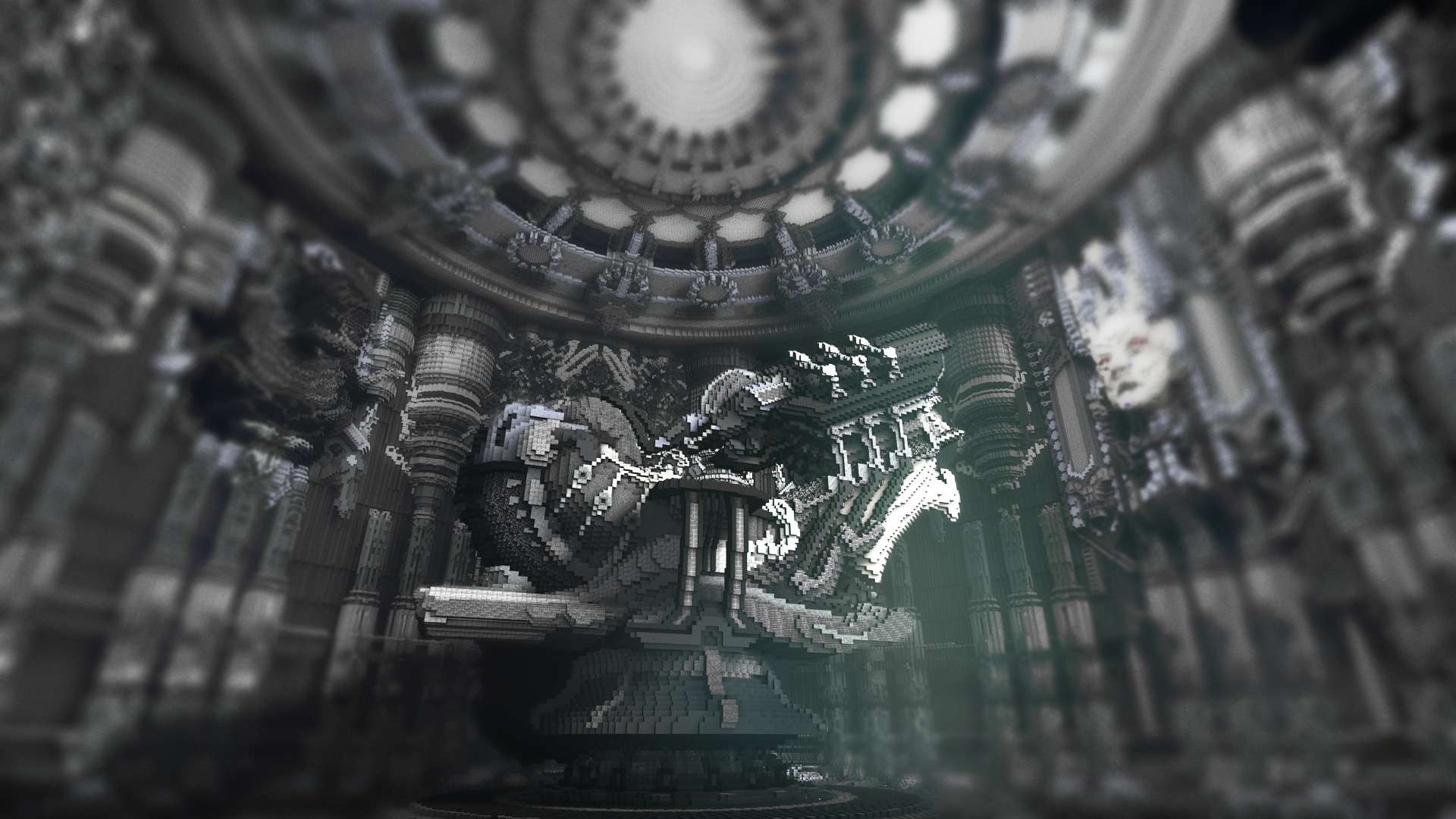 Prometheus A Tribute To HR Giger Minecraft Building Inc