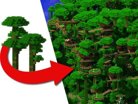Tribe Jungle Village Minecraft Building Inc