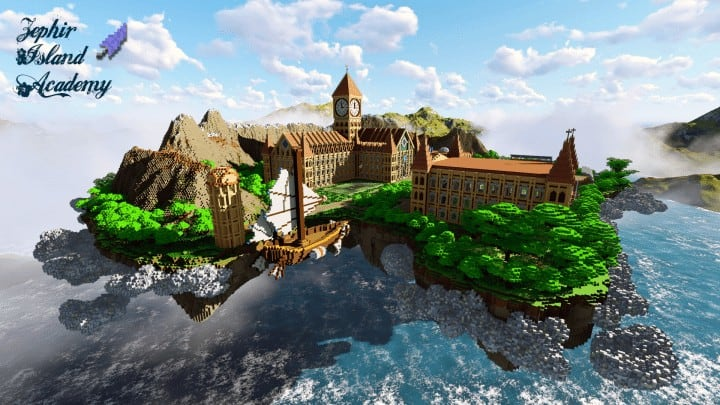 School Minecraft Building Inc