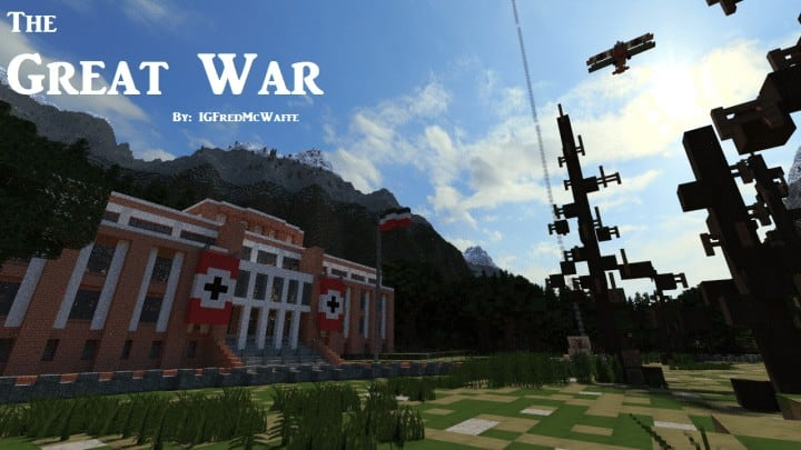 The Great War Battlefield 1 Inspired Map Minecraft