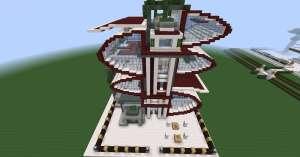 Descargar nueva Casa futurista y moderna minecraft