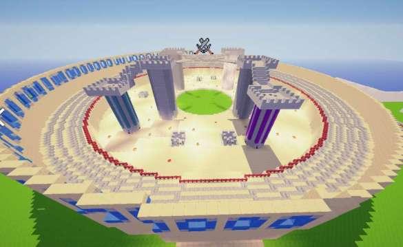 Arena Muerte Subita PVP minecraft descargar