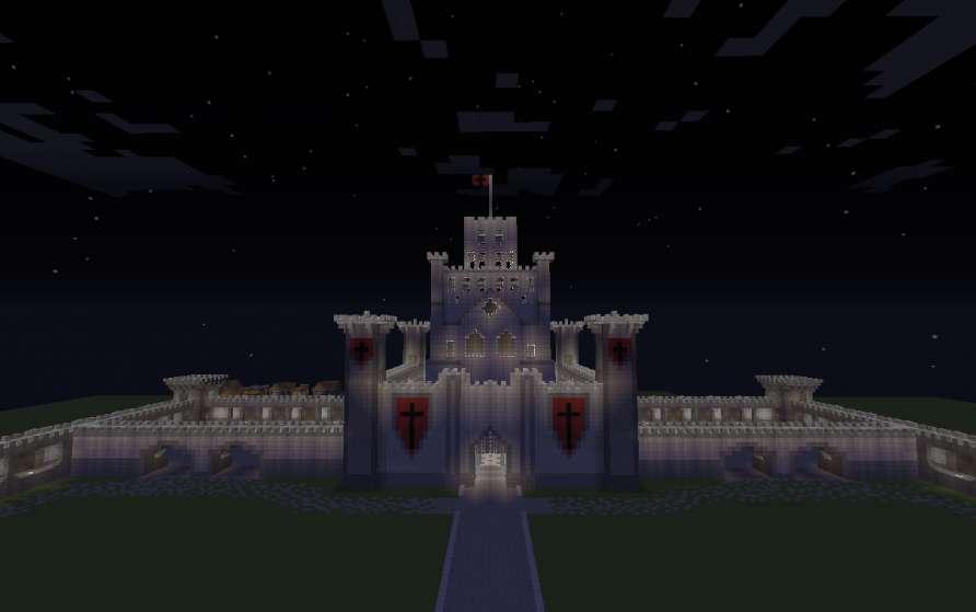 Gran castillo medieval minecraft