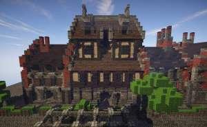 Taberna Medieval Minecraft