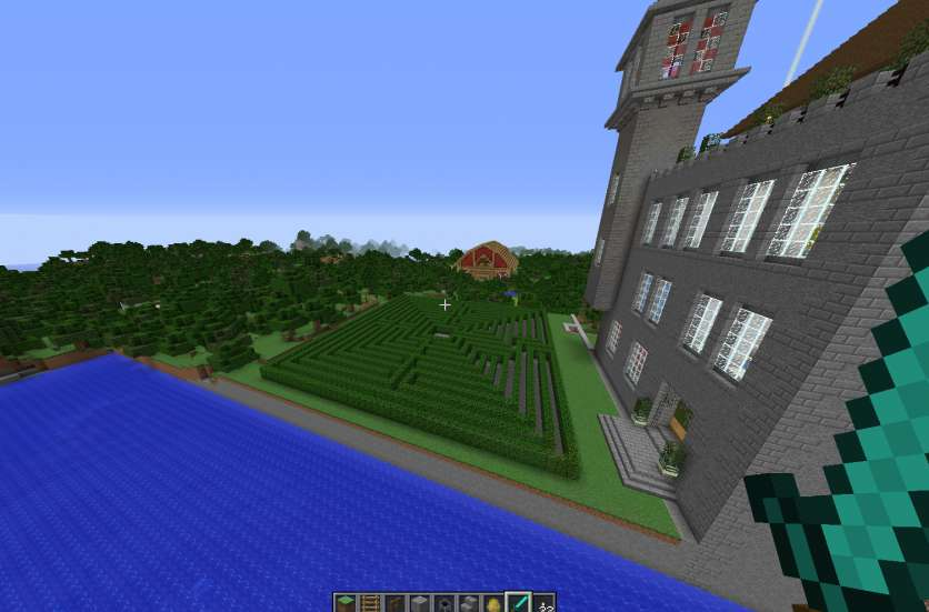 Laberinto Minecraft 3
