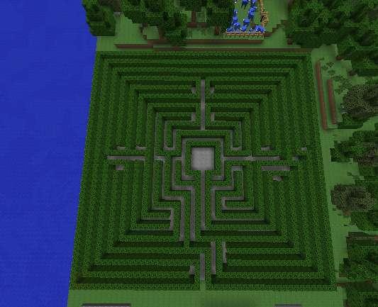 Laberinto Minecraft