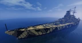 Barco de batalla Minecraft